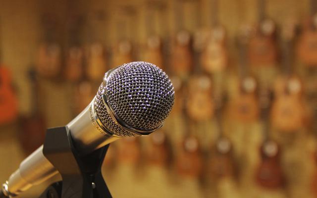 学件小乐器,自己唱live