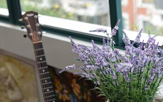 屋顶花园吉他教室