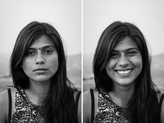 摄影师告诉你一个人笑与不笑,差别有多大