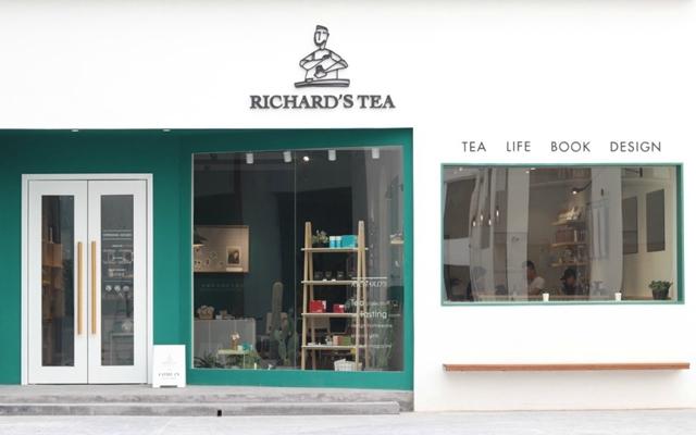 从头绿到脚的时髦茶店