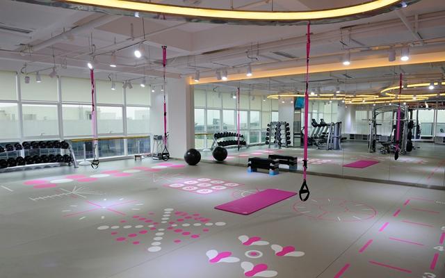 成都首个女性专属的健身空间