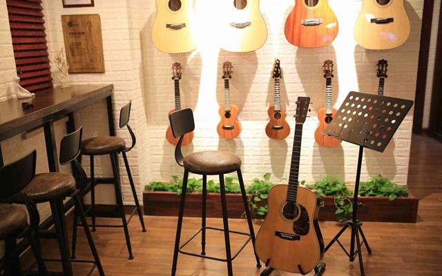 咖啡屋小酒馆般的吉他小教室