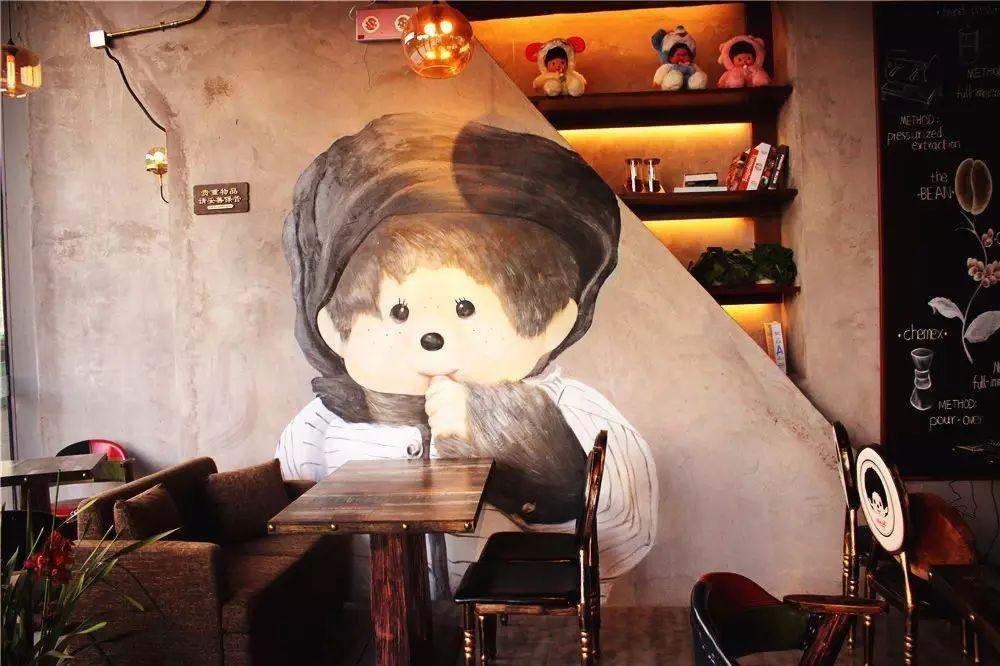 monchhichi cafe蒙奇奇咖啡
