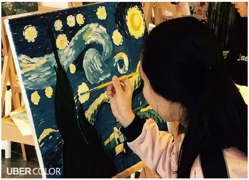成都哪里可以学习油画,Ubercolor自助画室基础油画教学